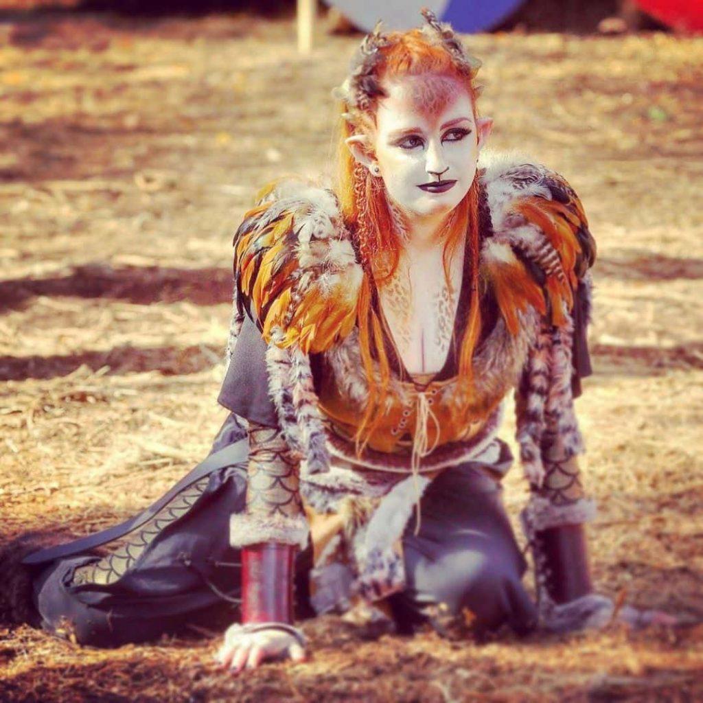 Animal makeup costume