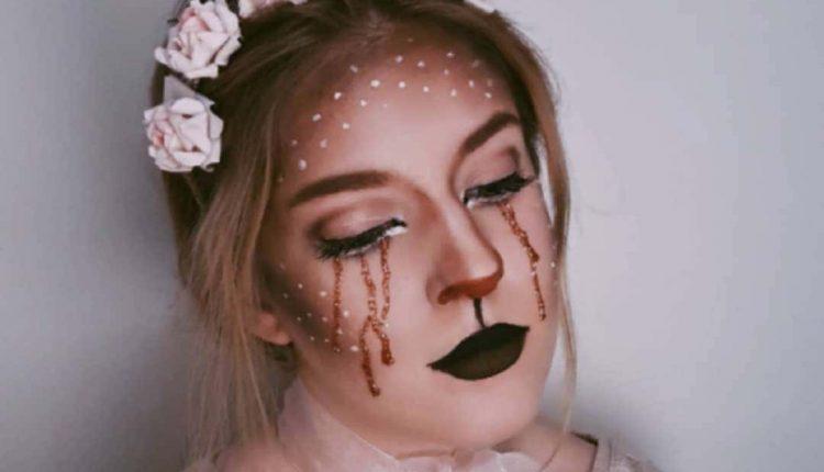 Animal-makeup-costume-snow-dear