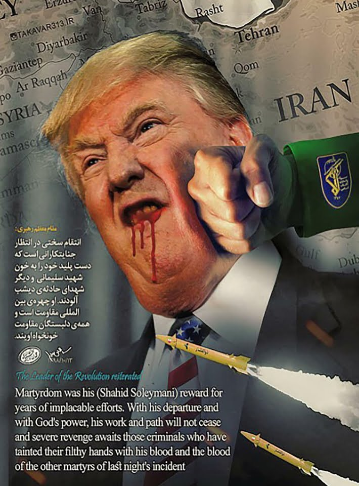 Iran hacked photo US website.